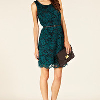 Formal Dress | Greens Lily Lace Dress  | Oasis