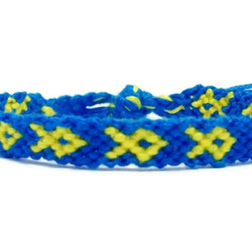 Boston Strong Embroidery Friendship Bracelet, Boston Strong Awareness Bracelet, One Fund Bracelet