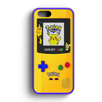 Gameboy Color Pokemon Edition iPhone 5 Case iPhone 5s Case iPhone 5c Case