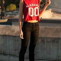 University of Alabama Crop Top | SportyThreads.com