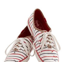 Keds Nautical Anything but Simple Sneaker in Stripes