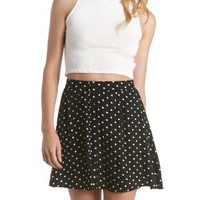 Textured Mock Neck Crop Top by Charlotte Russe