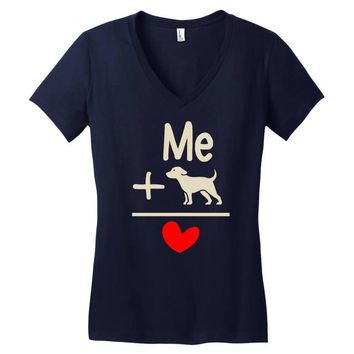 find and save ideas about i love dogs Women's V-Neck T-Shirt