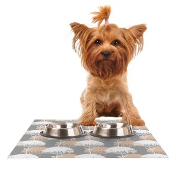 "julia grifol ""Charming Tree""  Dog Place Mat - Outlet Item"