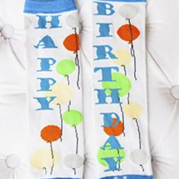 Baby Leggings - Birthday Boy