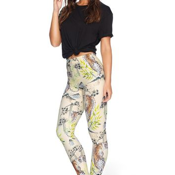 WATERCOLOUR TIGER MF STIRRUP LEGGINGS - LIMITED