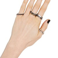 Metal Maven Ring Set
