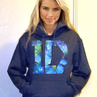 GALAXY 1D One Direction HOODIE Out of This World by bohemianrag