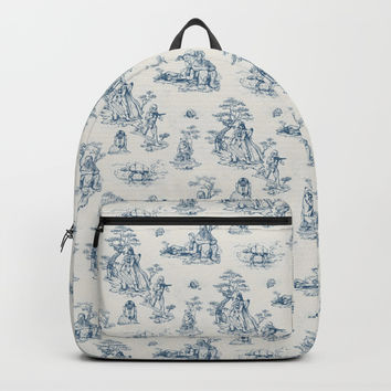 Toile de StarWars Backpacks by Anion
