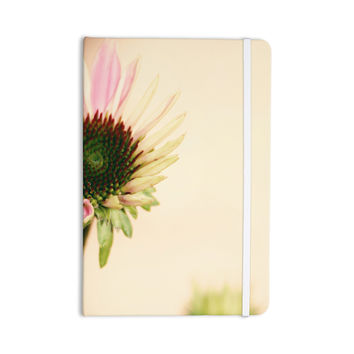 "Sylvia Coomes ""Pink And Yellow Flower"" Blush Floral Everything Notebook"