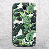 Banana Leaves Samsung Galaxy S4 Case