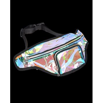 Clear Holographic Transparent Fanny Pack