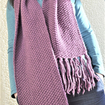 Chunky knit long wool winter scarves extra large oversized scarf knit scarves  winter scarf  chunky skarf  wool scarves  knit scarf