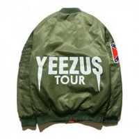 Indie Designs Kanye West Yeezus Tour MA-1 Bomber Jacket