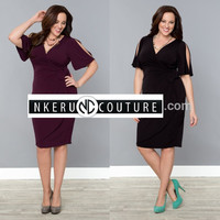 Simple Style plus size sexy summer dresses