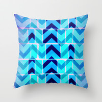 Up Throw Pillow by M Studio