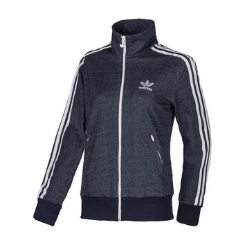 ADIDAS Fashion Women sports casual zip-up jacket