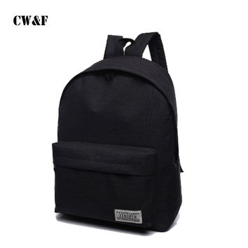 New Fashion school educational supplies primary junior high backpack school bags office & school supplies more colors
