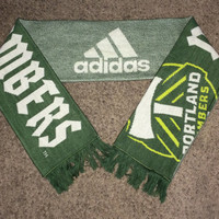 Sale!! Adidas PORTLAND TIMBERS Soccer Scarf MLS Football jersey shirt