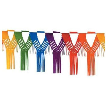 Drop Fringe Garland - Rainbow