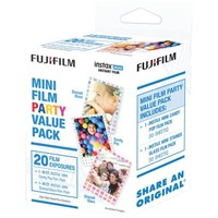 Fujifilm Instax Mini Film Pack (party Value Pack) - Walmart.com