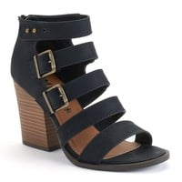Mudd Women's Strappy High Heel Sandals