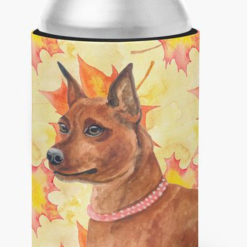 Miniature Pinscher Fall Can or Bottle Hugger BB9917CC
