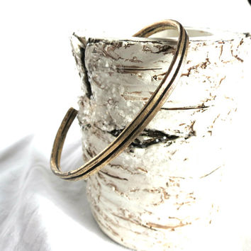 Cuff Bracelet, Rustic Cuff, Stacking Bracelet,Unisex Bracelet, Antique Gold Cuff, Oxidized Brass, Handmade Jewelry, Gift Idea