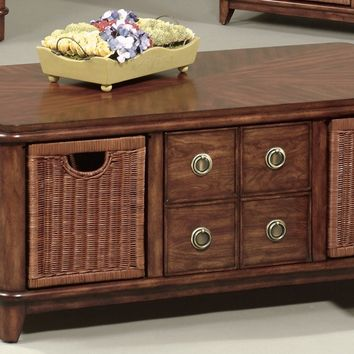 Anaronda Transitional Rectangular Cktl. Table Cherry
