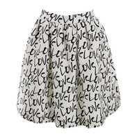 Kate Spade Womens Graphic Knee-Length A-Line Skirt