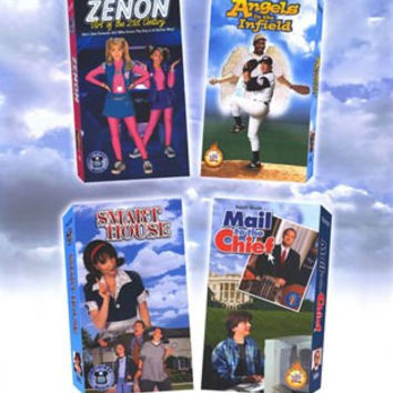 Comedy Fun With Your favorite Stars! Movie Poster 27x40 Used Zenon, Angels in the Infield, Mail to the Chief, and Smart House