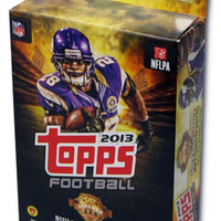 NFL 2013 Topps Football Hanger Box Trading Cards  72 Cards