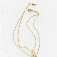 Double Chain Anklet- Gold One