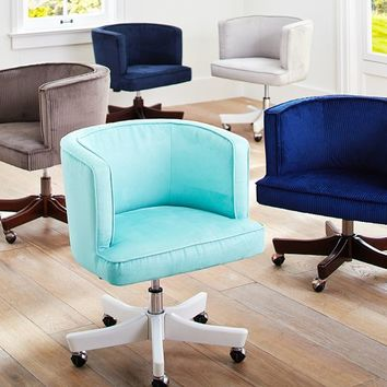 Scoop Swivel Desk Chair