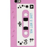 Love U Not Mixtape 3D iPhone Case