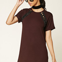 Crisscross T-Shirt Dress