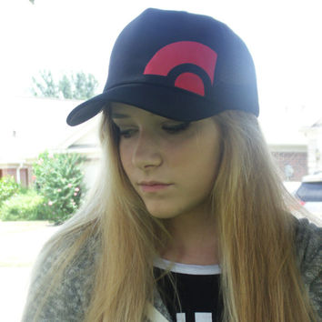 Pokemon go red team inspired hat