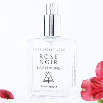 Miss Violet Lace Rose Noir Hair Perfume