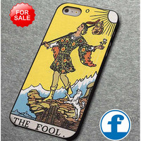 The fool tarot card for iphone, ipod, samsung galaxy, HTC and Nexus Phone Case