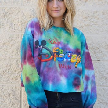Walt Disney World Crop Sweatshirt
