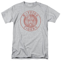 SAVED BY THE BELL/TIGERS - S/S ADULT 18/1 - HEATHER -