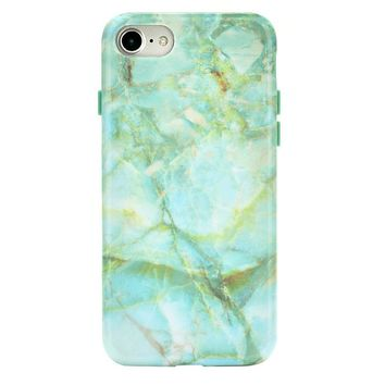 Jade Marble iPhone Case