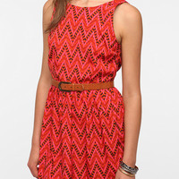 Urban Outfitters - Jack By BB Dakota Silky Aiko Printed Dress