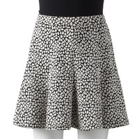 Apt. 9 Animal Gored Mini Skirt - Women's
