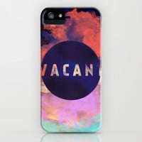 Vacant by Galaxy Eyes & Garima Dhawan iPhone & iPod Case by Garima Dhawan