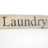 Country Chic Laundry Sign