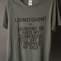 "Gina ""Laughing So Hard"" Tee"