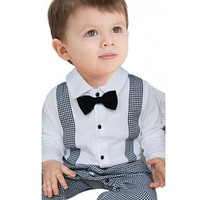 Baby Boy Long Sleeve Casual Clothing Suit