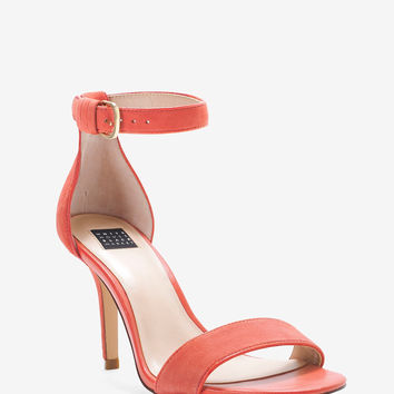 White House | Black Market Two-Piece Suede Heels