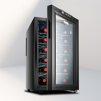 6 Layers Large JC-48BW Constant Temperature Wine Refrigerator Commercial Bar Wine Cabinet